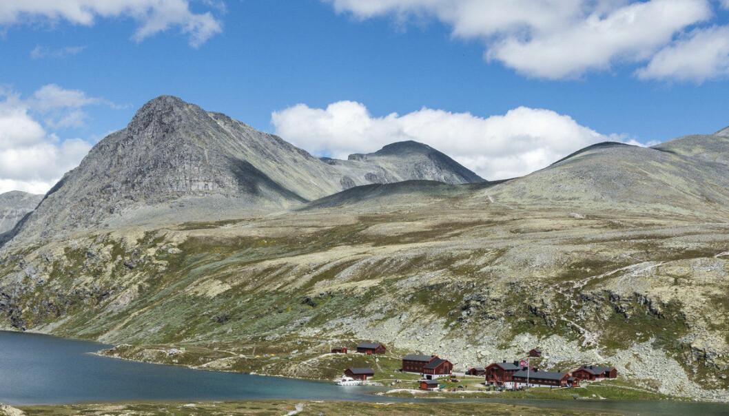 Hvorfor er det fjell i Norge?