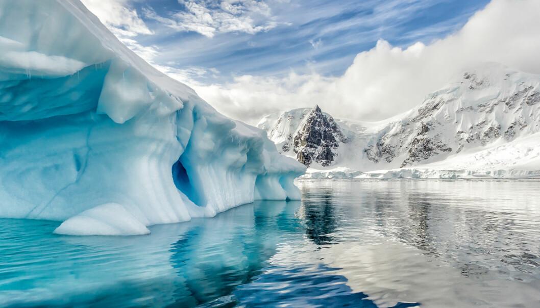 Vest-Antarktis stiger i rekordfart