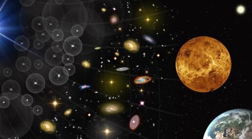 Må velge gammaglimt, galakser eller Venus