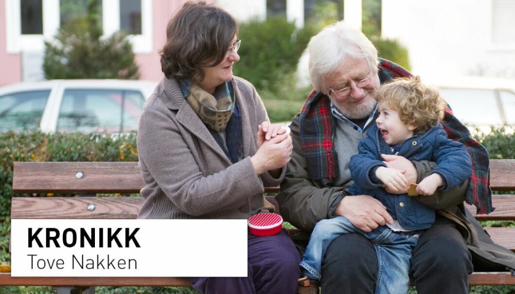 – Eldremedisin bør bli en egen spesialitet som tiltrekker mange. Forskning på oss eldre bør pirre nysgjerrigheten på ekte forskere, skriver Tove Nakken. (Foto: Jan Haas / NTB scanpix)