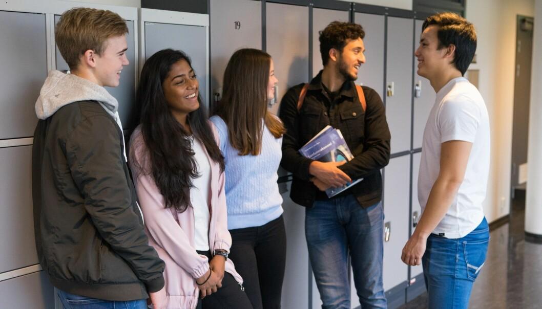 I integreringsprosjektet SAMMEN møtes ungdommer med utgangspunkt i felles interesser. (Illustrasjonsfoto: Thomas Brun, NTB scanpix)