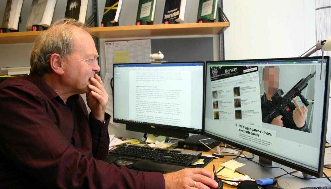 Tore Bjørgo, leder ved Senter for ekstremismeforskning på UiO, mener forskning på ekstremisme i Norge er underlagt strengere regelverk enn i mange andre deler av verden. (Foto: Ida Irene Bergstrøm)