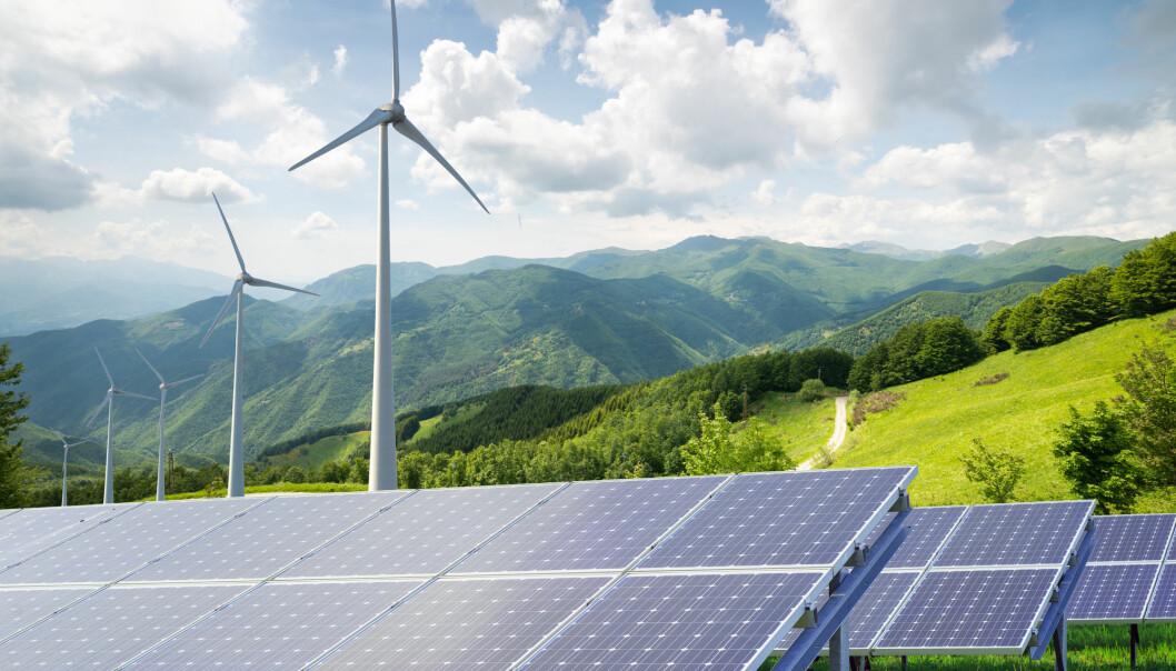 Kostnaden ved å produsere solenergi falt i gjennomsnitt med 15 prosent i 2017, ifølge FN.  (Foto: geniusksy / Shutterstock / NTB scanpix)
