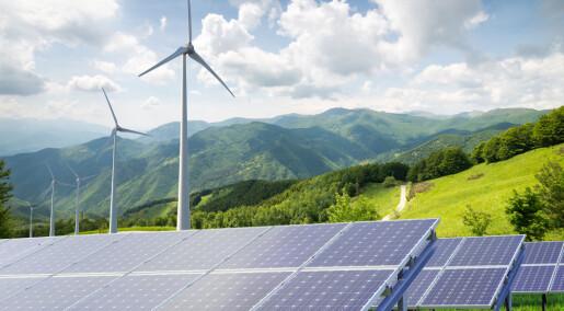 Fornybar energi ble klar vinner i 2017