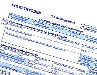 Har Norge verdens høyeste sykefravær?
