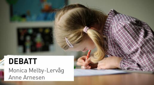 Debattinnlegg: Skoletester har stor betydning for barns utdanning og fremtid