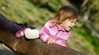 Mener småbarn har godt av litt lekeslåssing