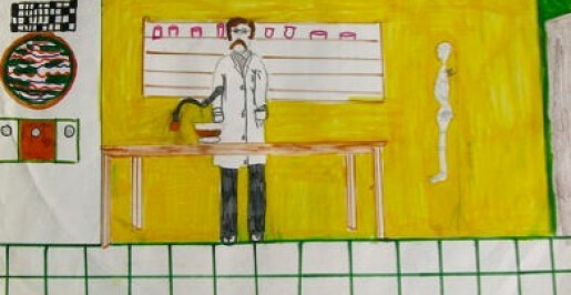 Barn tegner flere dameforskere enn før