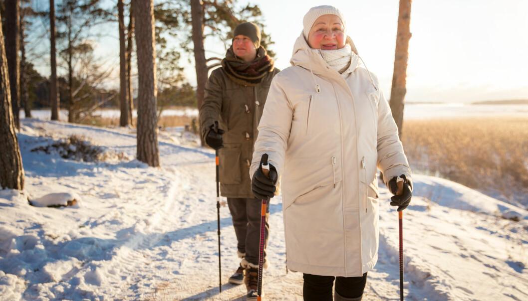 En ny studie viser at faren for tidligere død er høyere for pasienter som er helt inaktiv enn for de som både er litt aktive og veldig aktive. Å være litt aktiv, selv om det er under anbefalt nivå, gir altså bedre prognoser enn om man ikke mosjonerer i det hele tatt. (Illustrasjonsfoto: Shutterstock / NTB Scanpix)