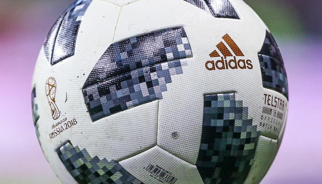 Telstar 18 – årets VM-ball. Den alt handler om. Kommer den egentlig til å lure noen i løpet av sluttspillet? (Foto: Дмитрий Садовников / CC BY-SA 3.0 / Wikipedia )