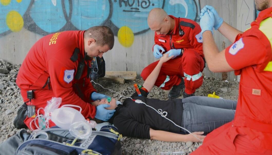 Norge var i fjor på tredjeplass i Europa med overdosedødsfall, sett i forhold til antall innbyggere. (Foto: Kåre Eide, Oslo Universitetssykehus)