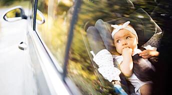 Kan barnesetet beskytte mot påkjørsel bakfra?