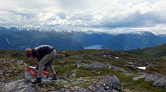 Det norske høyfjellet er skrapt ned av isen
