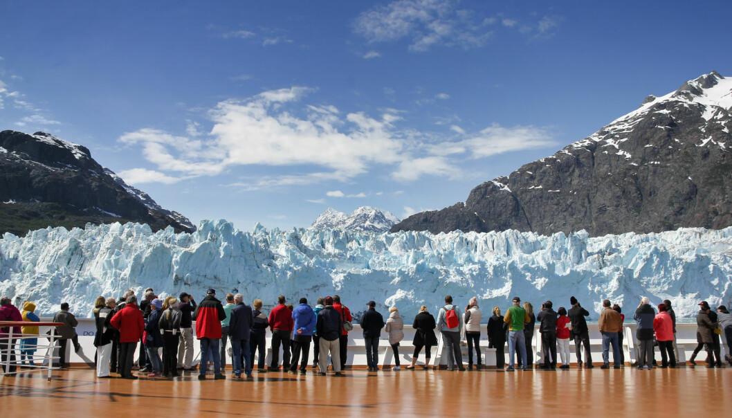 Store murer og kunstige øyer foran verdens ismasser kan ifølge forskere hindre at de glir ut i havet, der de kan bidra til at havet stiger.  (Foto: Pixeljoy / Shutterstock / NTB scanpix)