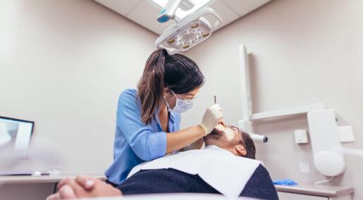 Lukten av angst ga dårligere tannbehandling