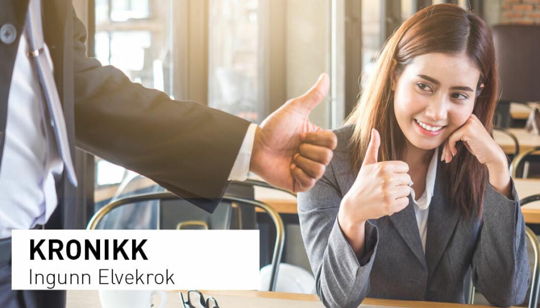 - I dag utfordres fagforeningene av arbeidstakernes tillit til at egen kompetanse og et personlig forhold til arbeidsgiver kan erstatte kollektive avtaler, skriver Ingunn Elvekrok. (Foto: Shutterstock / NTB scanpix)