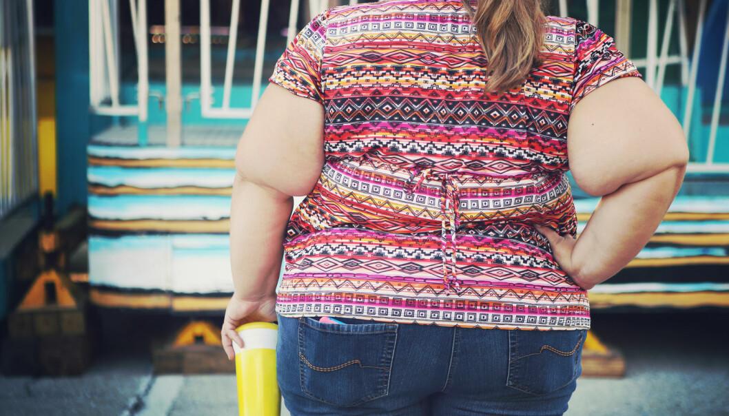 Andelen voksne amerikanere med fedme steg fra 33,7 prosent i 2007/2008 til 39,6 prosent i 2015/2016, i følge en ny undersøkelse publisert i JAMA.  (Illustrasjonsfoto: Suzanne Tucker / Shutterstock / NTB scanpix)