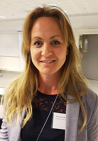 Forsker Malin Wieslander mener at det eksisterer en taushetskultur blant svensk politi. (Foto: Ida Kvittingen, forskning.no)