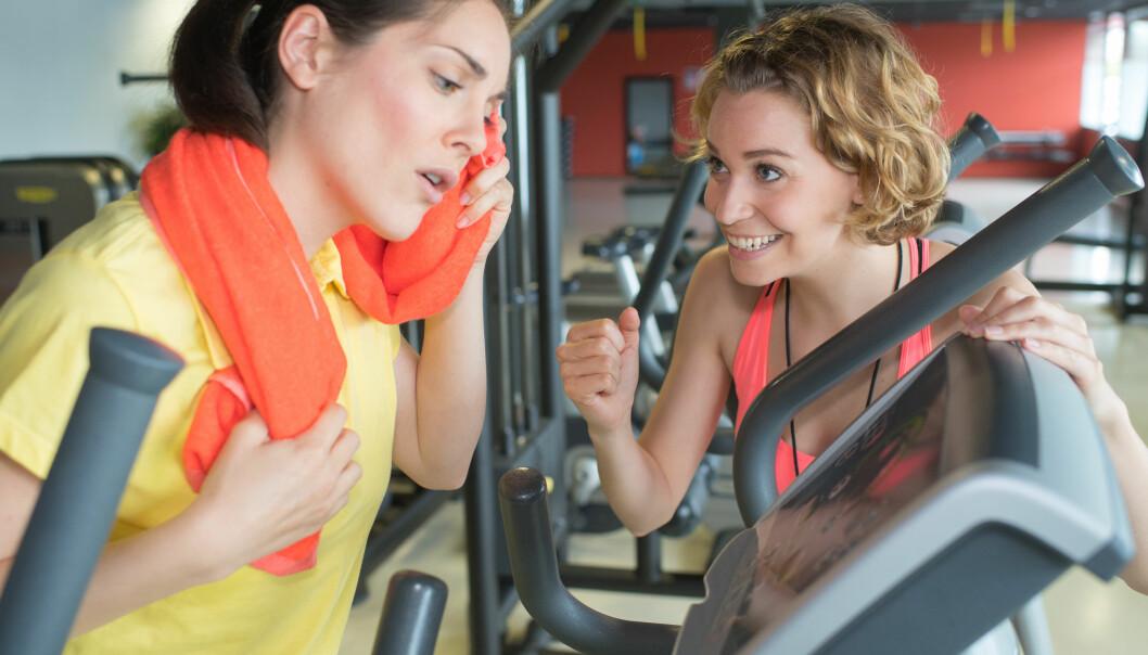Det er ikke så lett å vite hvor god form man er i hvis man ikke er vant til å trene. (Illustrasjonsfoto: Colourbox)