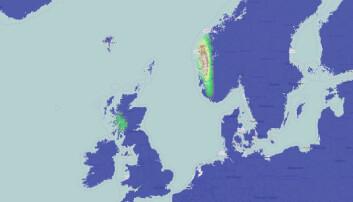 Se klimaendringer på verdenskartet