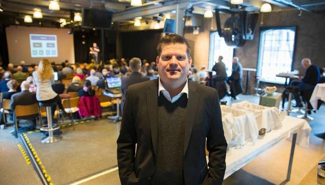 Stian Husemoen er seksjonssjef ved NTNUs enhet for digital sikkerhet. (Foto: Tore Oksholen)