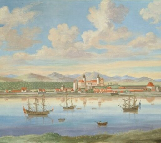 Importen til Oslo havn på slutten av 1700-tallet