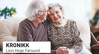 Kronikk: Gode omgivelser kan bety alt for mennesker med demens