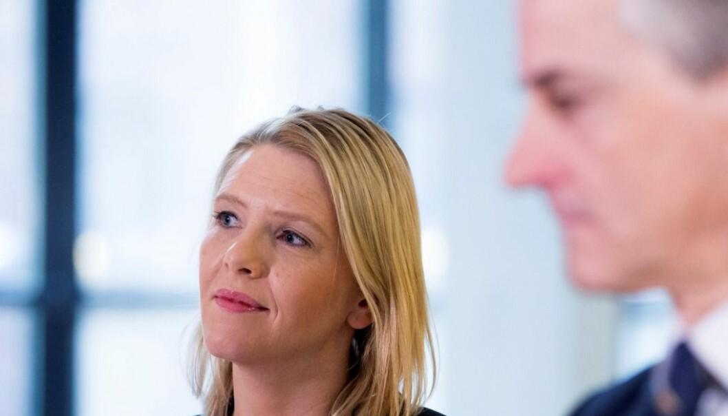 Sylvi Listhaug (Frp) tok norsk politisk retorikk til et nytt nivå tirsdag, mener eksperter. (Foto: Håkon Mosvold Larsen, NTB scanpix)