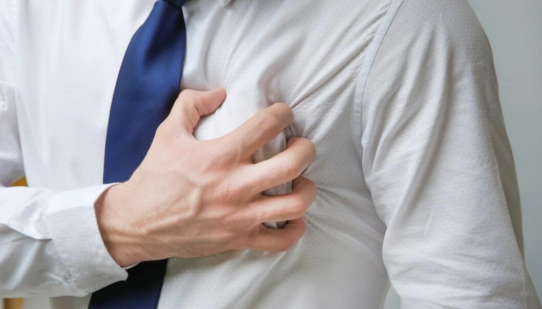 I 2012 skyldtes nesten hvert tredje dødsfall hjerte- og karsykdommer. Fem år senere hadde andelen falt til drøyt hvert fjerde dødsfall. (Illustrasjonsfoto: Africa Studio, Shutterstock, NTB scanpix)