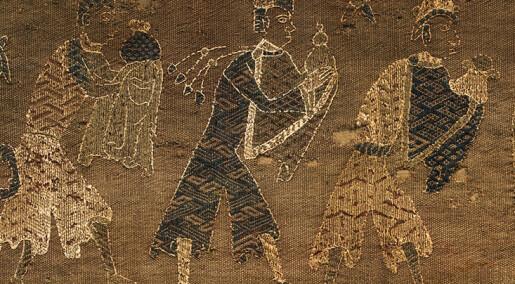 Unikt teppe fra middelalderen ble funnet på loft