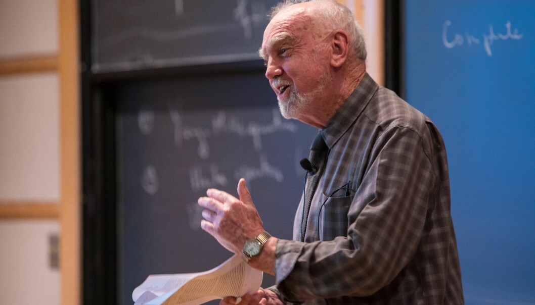 Robert Langlands omtales som en av de mest innflytelsesrike matematikerne i siste halvpart av det tjuende århundre. (Foto: Dan Komoda, Institute for Advanced Study)