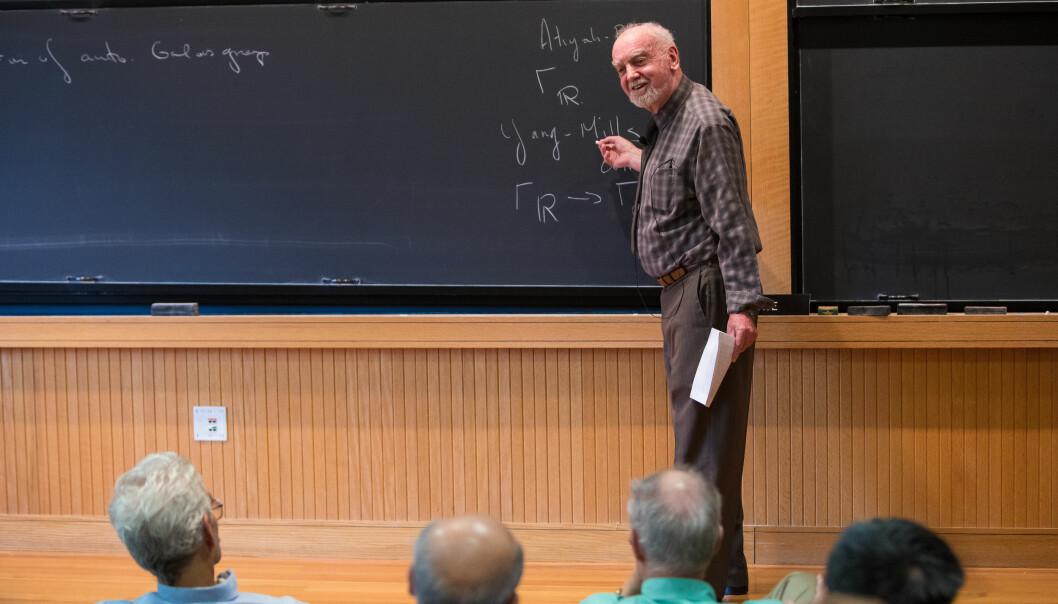 Ingen andre prosjekter innen moderne matematikk har hatt et så bredt målområde, produsert så mange dyptpløyende resultater og beskjeftiget så mange mennesker som Langlands-programmet, skriver Alex Bellos. (Foto: Dan Komoda/Institute for Advanced Study)