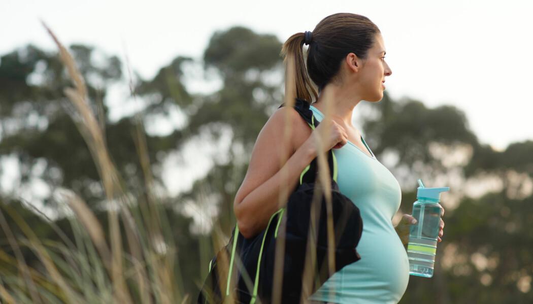 – Det har tidligere vist seg at fysisk aktivitet hjelper mot depresjon. Jeg er derfor ikke overrasket over funnene, men jeg synes likevel at det er fint å se at fysisk aktivitet kan ha en forebyggende effekt også på fødselsdepresjon, sier forsker. (Illustrasjonsfoto: Shutterstock / NTB Scanpix)