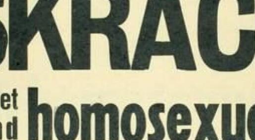 1950-tallet:Svenske homofile var skurker mens norske ble framstilt som ofre