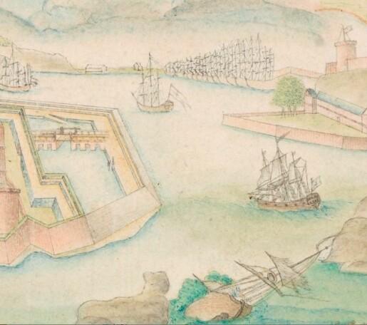 Sagspon i Oslo havn på 1700-tallet: plage og mulighet