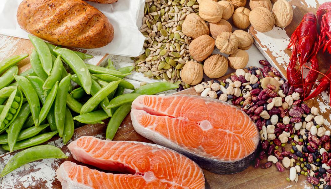 B-vitamin finnes i nesten alle former for matvarer, og derfor er det ofte også vanskelig ikke å få nok av dem. Veganere bør likevel ta tilskudd av B-12 siden vitaminet finnes i matvarer fra dyr.  (Foto: bitt24 / Shutterstock / NTB scanpix)