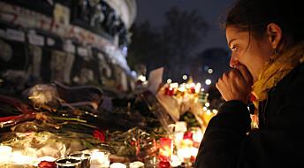 Redde på sosiale medier etter Paris-terroren