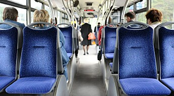 Kraftig økning i antallet reisende med kollektivtransport