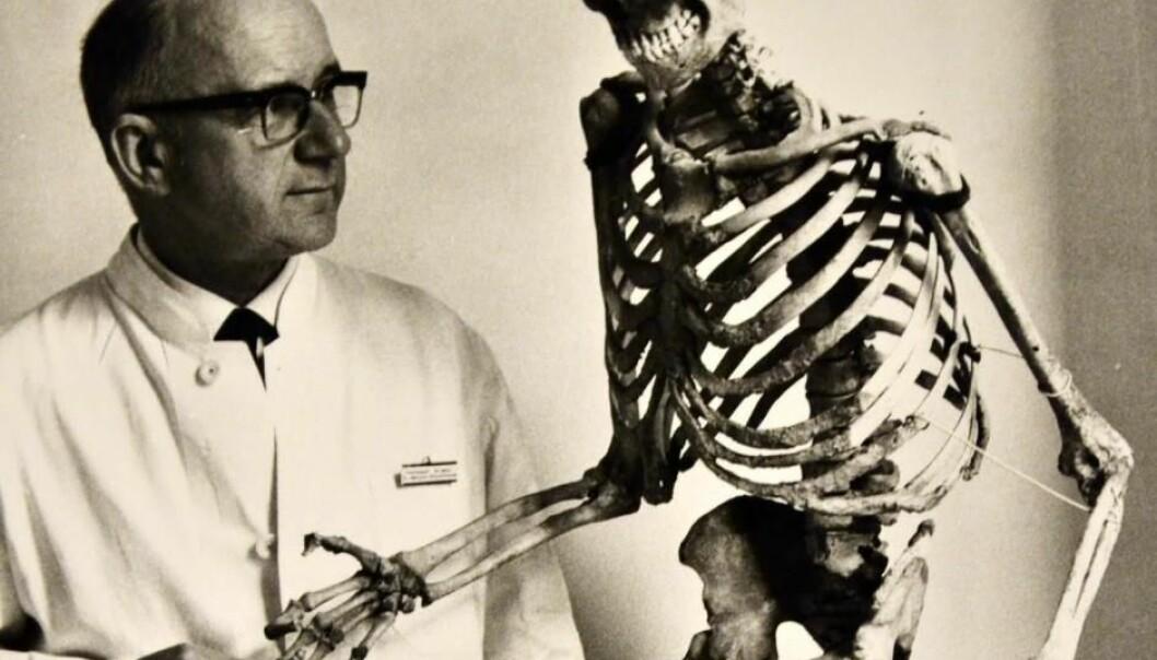Den danske legen og medisinhistorikeren Vilhelm Møller-Christensen (1903–1988) var en pioner innen forskning på spedalskhet.  lånt ut av Jesper From