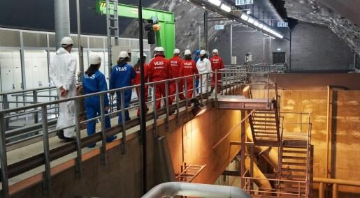 Vannforskere på narkojakt i Oslo-kloakken
