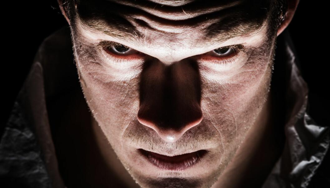 Er det slik psykopater ser ut? (Illustrasjonsfoto: Colourbox)