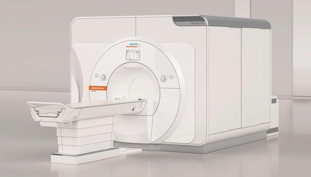 Den nye MR-maskinen blir den første i sitt slag i Norge. (Foto: Siemens Healthineers)