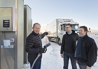 Her er Nord-Europas første hydrogen-lastebil