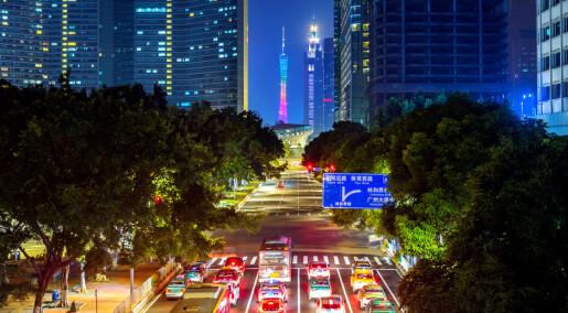 I Kina har de innført kvote på å eie bil