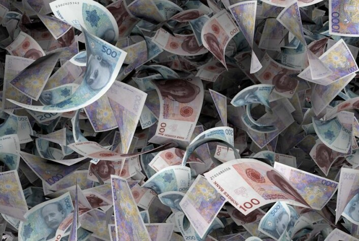 """""""Hvordan best sikre at disse er verdt noe? Den debatten går blant pengepolitikkekspertene i kjølvannet av finanskrisa."""" (Foto: (Illustrasjon: Per Byhring))"""