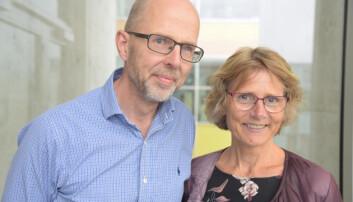 Jan Haavik og Astri J. Lundervold har bidratt med resultater til en stor internasjonal studie om gener og psykiatriske lidelser, som nylig ble publisert i Science. (Foto: Kim E. Andreassen, UiB)
