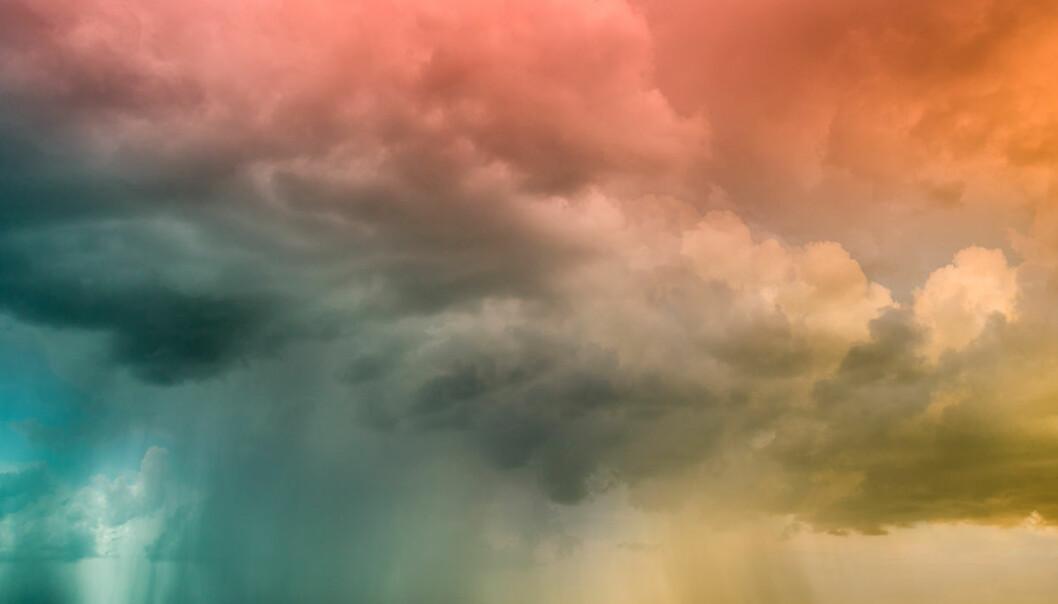Virus og bakterier virvles opp av havskum og ørkenstøv og fraktes verden rundt. Nå har forskere satt tall på hvor mange slike ørsmå globetrottere det er. (Illustrasjonsfoto: www.colourbox.no)