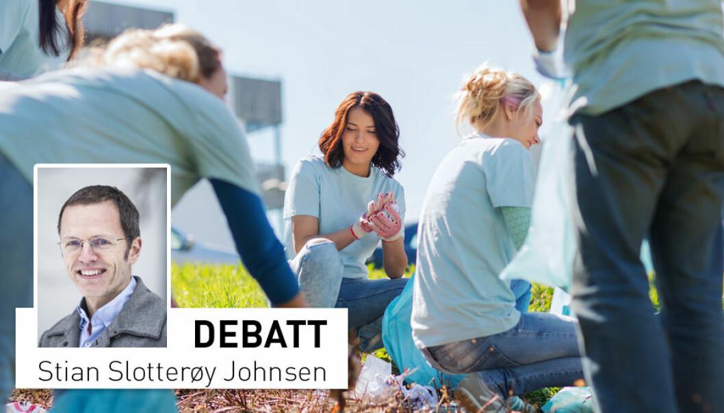 - Når alle blir spurt på likt viser det seg at det i stor grad er kvinnene som rekker opp hånda, skriver Stian Slotterøy Johnsen. (Foto: Shutterstock / NTB scanpix)