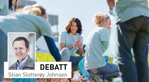 Debattinnlegg: Flest menn i frivilligheten? Vi spør alle – og kvinnene svarer ja!