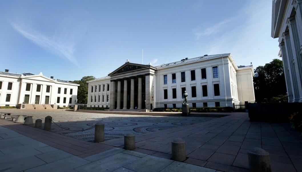 Universitetet i Oslo på tredjeplass i Norden på nett
